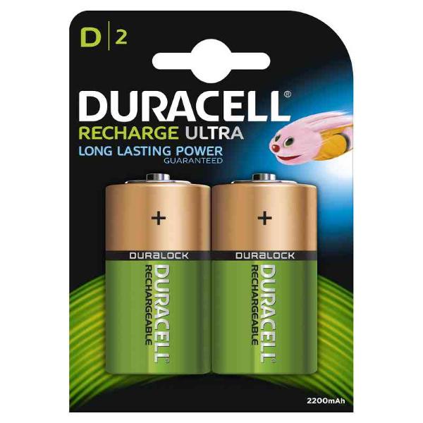 DURACELL LR020/HR20 TORCIA D RICARICABILE PREC. 2200MAH - BLISTER 2 BATTERI MELDU14
