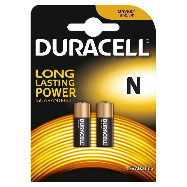 DURACELL LR1/MN9100/E90 TIPO N MN9100 1,5V - BLISTER 2 BATTERIE MELDU26