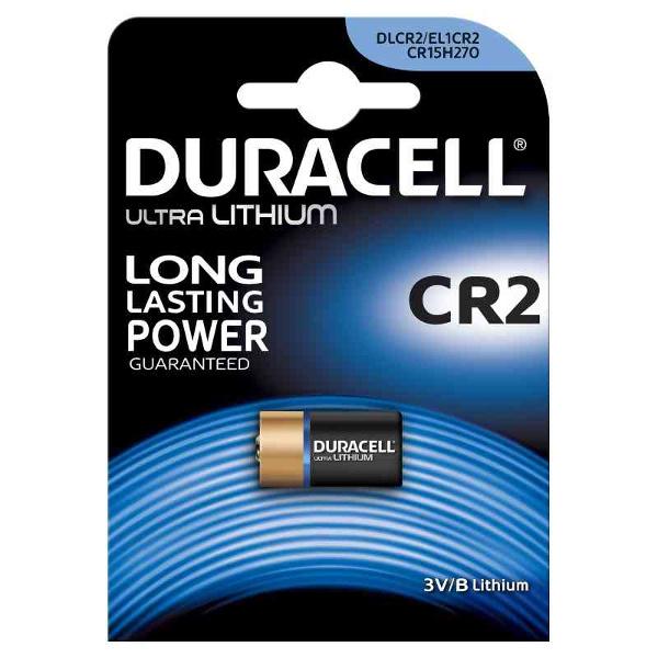 DURACELL DLCR2/EL1CR2/CR15H27 ULTRA LITIO TIPO CR2 3V - BLISTER 1 BATTERIA MELDU29