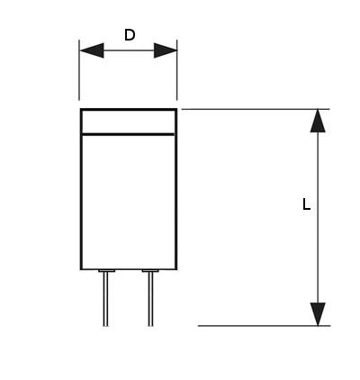 V-TAC VT-1963 LAMPADINA LED G4 3W BIANCO CALDO BLISTER 3PEZZI LED4312
