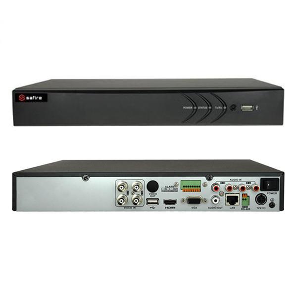 SAFIRE HTVR61 DVR 4 CANALI IBRIDO 5 IN 1 TURBO HD 1080P A 12FPS  VISHTVR6104