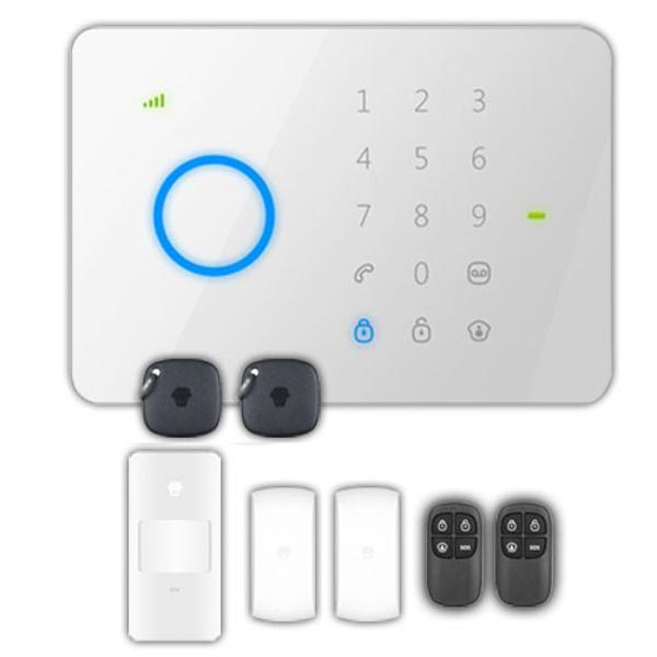 CHUANGO  G5 KIT ALLARME ANTIFURTO GSM TOUCH SENZA FILI WIRELESS ANTG5PLUS