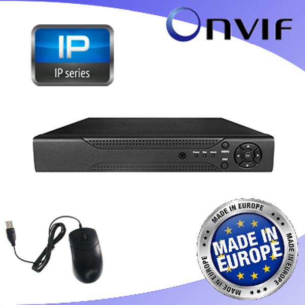ENVIO  NVR 4 CANALI 5MP CON USCITA HDMI 4K VISNVR-4K4