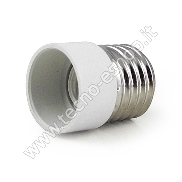 TECNO-ESHOP  ADATTATORE PER LAMPADINE DA E27 A E14 MELPA2714