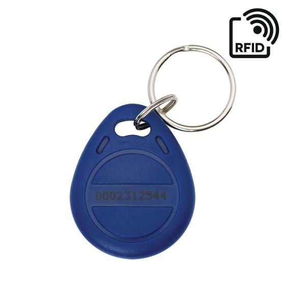 SAFIRE RTAG PORTACHIAVE BLU TAG RFID 125 KHz PER LETTORI CONTROLLO ACCESSI O PRESENZA VISRFID-TAG