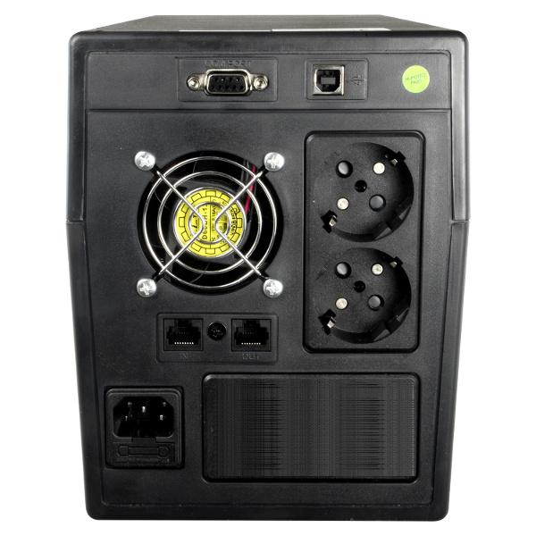 TECNO-ESHOP SAI UPS 600VA MONOFASE 2 POSTAZIONI UPSSAI600