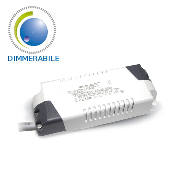 V-TAC VT-605 ALIMENTATORE DRIVER PER PANNELLO LED 6W DIMMERABILE LED8073