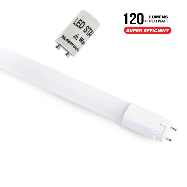 V-TAC VT-122 TUBO A LED 18W BIANCO NATURALE 120CM 2250LM CHIP SAMSUNG LED672