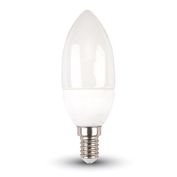 V-TAC VT-1855 LAMPADINA LED E14 5,5W BIANCO FREDDO A CANDELA LED42411
