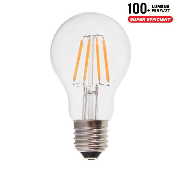 V-TAC VT-1885 LAMPADINA LED E27 FILAMENTO 4W BIANCO NATURALE 300 GRAD LED7119