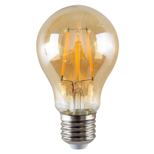 V-TAC VT-1954 LAMPADINA LED E27 FIL. AMBRA 4W BIANCO CALDO LED4498