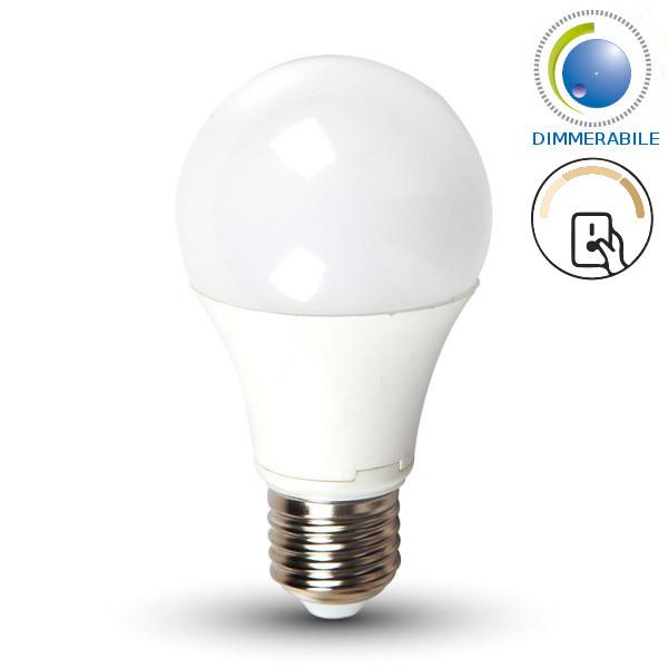 V-TAC VT-2011 LAMPADINA LED E27 9W BIANCO FREDDO DIMMERABILE A STEP LED4449