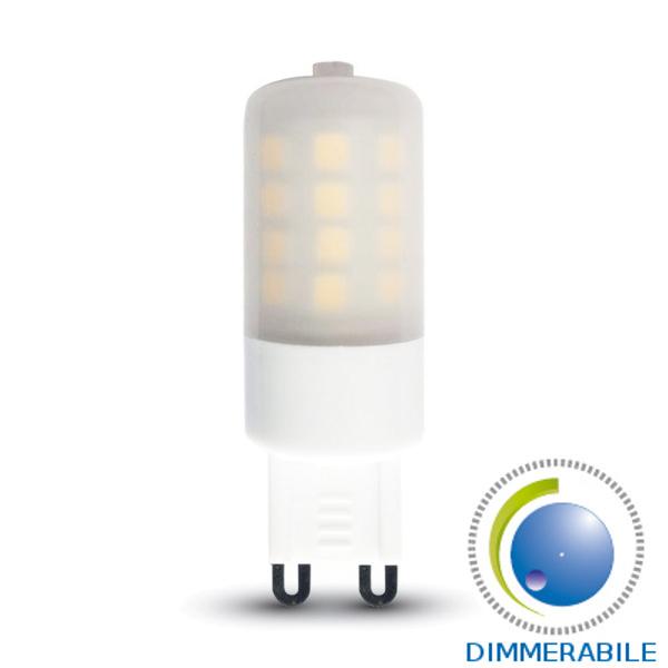 V-TAC VT-2083D LAMPADINA LED G9 3W BIANCO CALDO DIMMERABILE LED7253