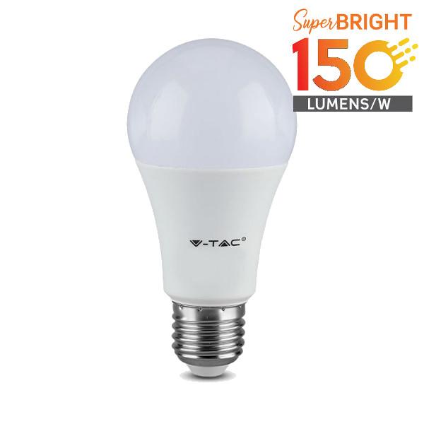 V-TAC VT-2310 LAMPADINA LED E27 9,5W BIANCO FREDDO 200 GRADI 160 LUMENWATT LED2811