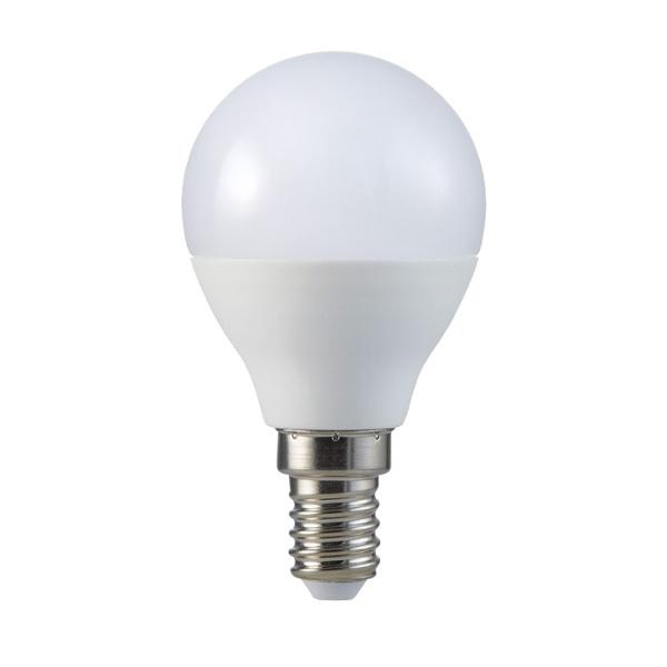 V-TAC VT-236 LAMP. LED E14 5,5W BIANCO CALDO A BULBO CHIP SAMSUNG LED168