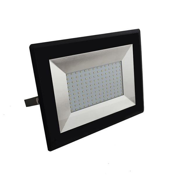 V-TAC VT-40101 FARO LED 100W ULTRASOTTILE BIANCO FREDDO SMD NERO LED5966