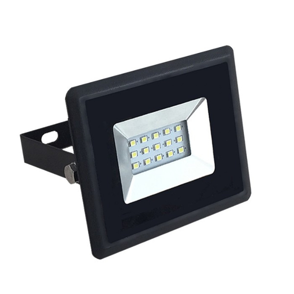 V-TAC VT-4011 FARO LED 10W ULTRASOTTILE BIANCO NATURALE SMD NERO LED5941