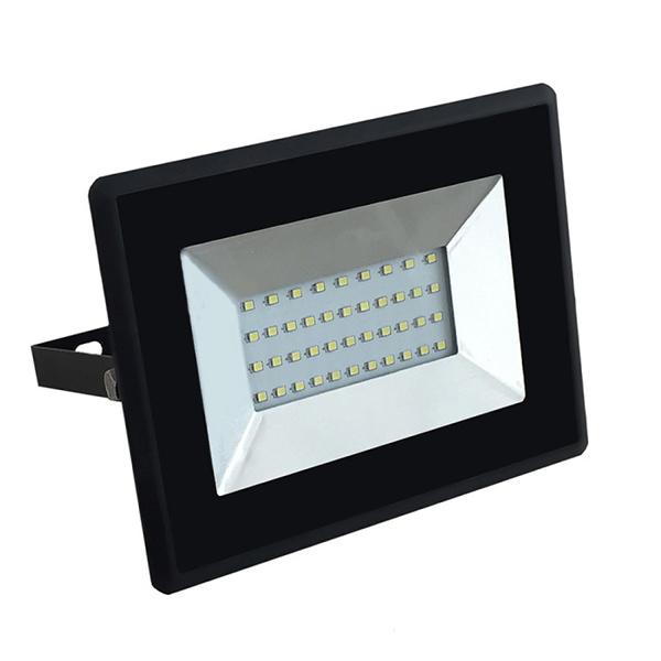 V-TAC VT-4031 FARO LED 30W ULTRASOTTILE BIANCO CALDO SMD NERO LED5952