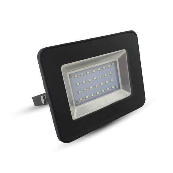 V-TAC VT-4621 FARO LED 20W ULTRASOTTILE BIANCO NATURALE SMD NERO LED5879