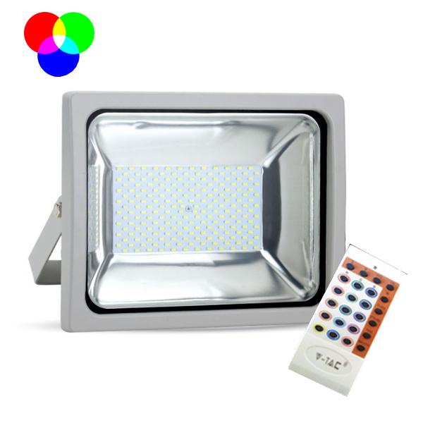 V-TAC VT-4752 FARO LED 50W RGB DA ESTERNO GRIGIO LED5691