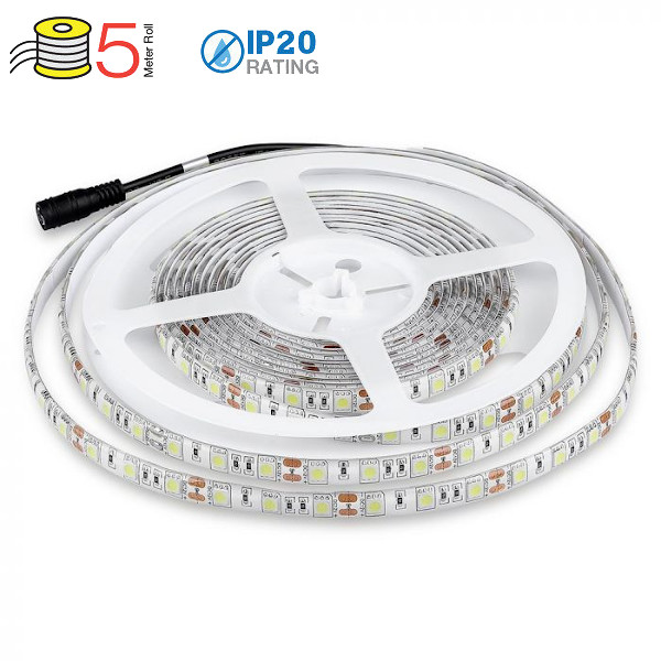 V-TAC VT-5050IP65300 STRISCIA 300 LED BIANCO NATURALE 5 METRI IMPERMEABILE LED2150