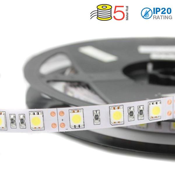 V-TAC VT-5050IP20300 STRISCIA 300 LED BIANCO CALDO 5 METRI NON IMPERMEABILE LED2122