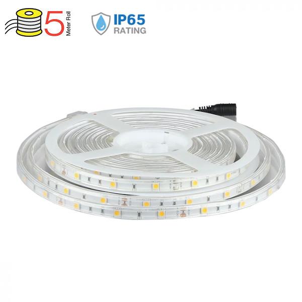 V-TAC VT-5050IP65150 STRISCIA 150 LED BIANCO NATURALE 5 METRI IMPERMEABILE LED2460