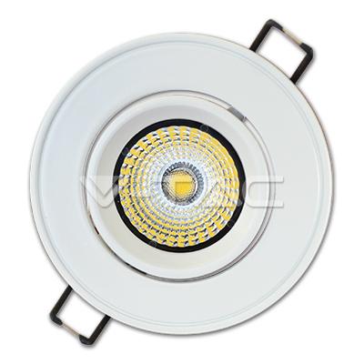 v-tac  FARETTO INCASSO 5W BIANCO FREDDO ORIENTABILE LED1123