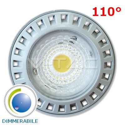 v-tac VT-1860D LAMPADINA LED GU10 SMD 6W BIANCO FREDDO DIMMERABILE LED1644