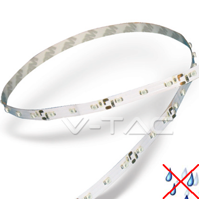 v-tac VT-3528IP20300 STRISCIA 300 LED BIANCO  5 METRI NON IMPERMEABILE LED2005