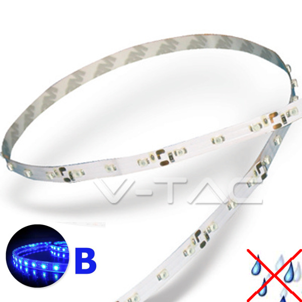 v-tac VT-3528IP20300 STRISCIA 300 LED BLU 5 METRI NON IMPERMEABILE LED2013