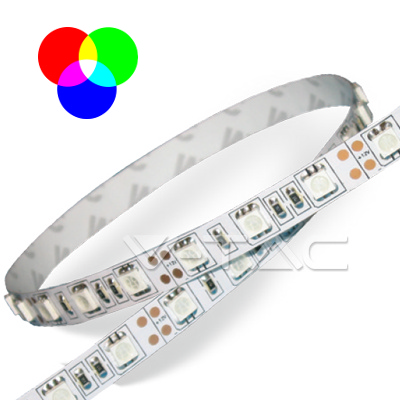 v-tac VT-5050IP2030R STRISCIA 300 LED MULTICOLORE 5 METRI NON IMPERMEABILE LED2120