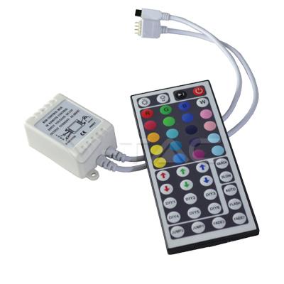 v-tac VT-2401 CONTROLLER LED RGB 44 TASTI LED3317