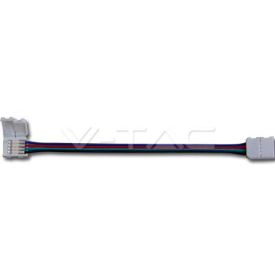 v-tac VT-3502 CONNETTORE FLESSIBILE STRISCIA LED 5050 RGB LED3502