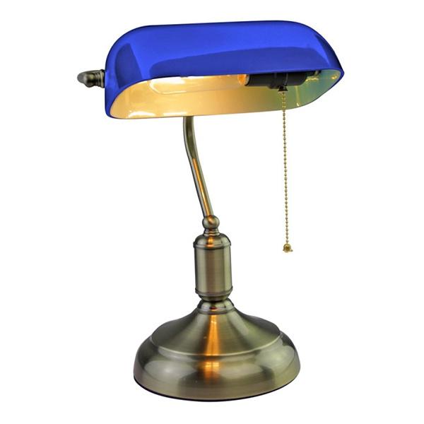 v-tac VT-7151 LAMPADA DA TAVOLO BACHELITE ATTACCO E27 BLU LED3913