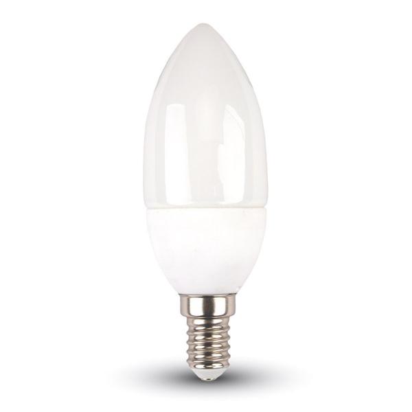 v-tac VT-1818 LAMPADINA LED E14 4W CALDA A CANDELA LED4216