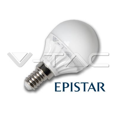 LAMPADINA LED E14 4W BIANCO FREDDO A BULBO