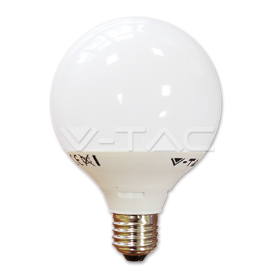 v-tac VT-1893 GLOBO LED E27 10W BIANCO CALDO LED4276
