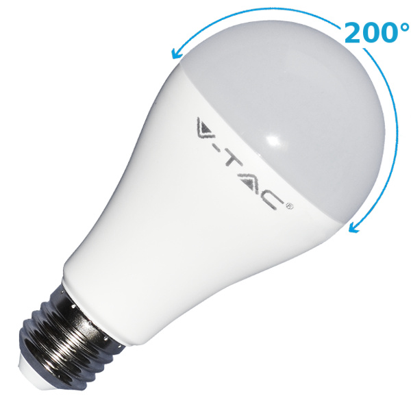v-tac VT-2015 LAMPADINA LED E27 15W BIANCO NATURALE 200 GRADI LED4454