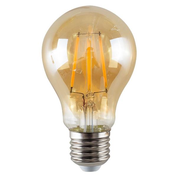 v-tac VT-1958 LAMPADINA LED E27 FILAMENTO 8W BIANCO CALDO AMBRA LED4472