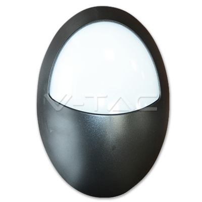 v-tac VT-8009 PLAFONIERA LED OVALE 12W LUCE NATURALE IMPERMEABILE LED4972