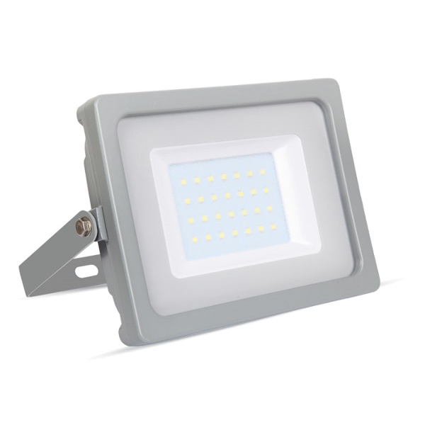 v-tac VT-4933 FARO LED 30W ULTRASOTTILE BIANCO CALDO SMD GRIGIO LED5816