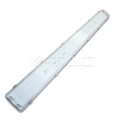 PLAFONIERA PER n2 TUBI LED DA 150CM IMPERMEABILE