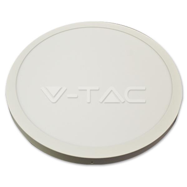 v-tac VT-6050 PANNELLO LED 36W LED TONDO BIANCO CALDO CON DRIVER LED6091