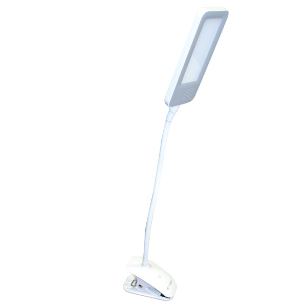 V tac lampada da tavolo led 7w bianco naturale con pinza vt 1008d - Lampada da tavolo con pinza ...