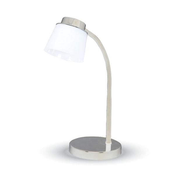 v-tac VT-1015 LAMPADA DA TAVOLO LED 5W CORPO BIANCO  BIANCO NATURALE LED7051