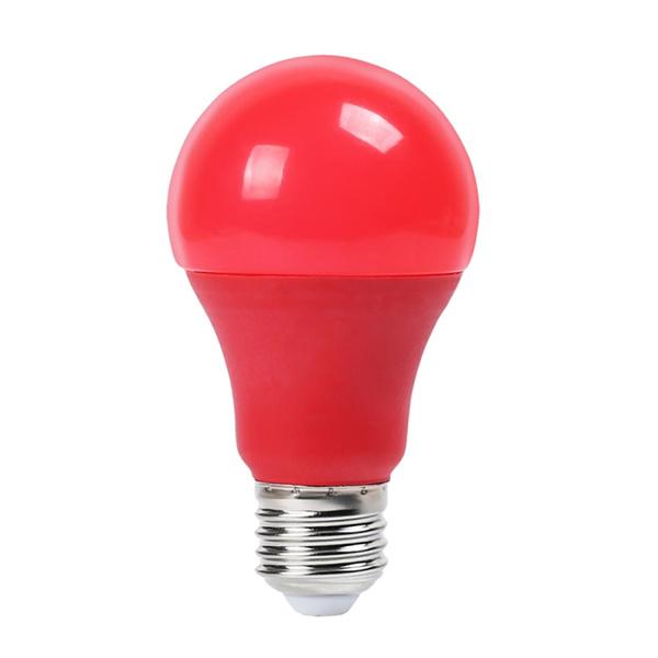 v-tac VT-2000 LAMPADINA LED E27 9W ROSSA LED7341