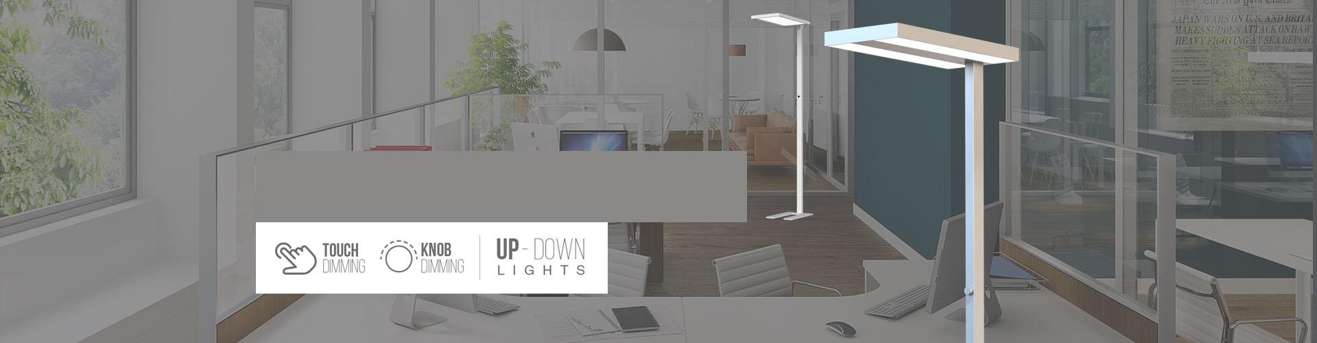 Lampade a piantana a LED da pavimento marchiate V-TAC
