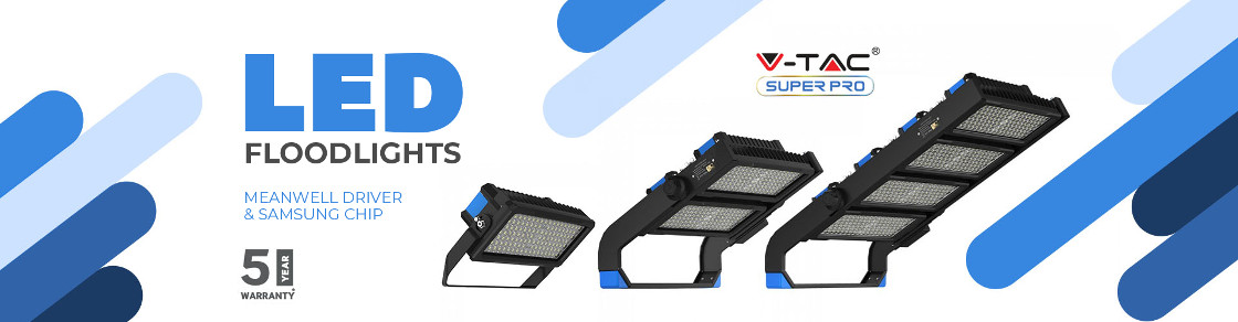 Nuovi Proiettori LED SUPER PRO V-TAC