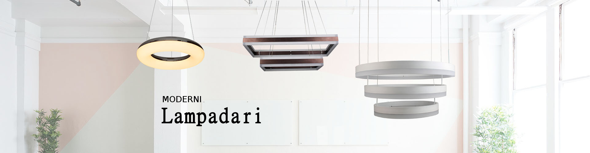 Lampadari moderni a LED by V-TAC